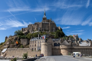 You will spend a night on the island of Mont Saint Michel.