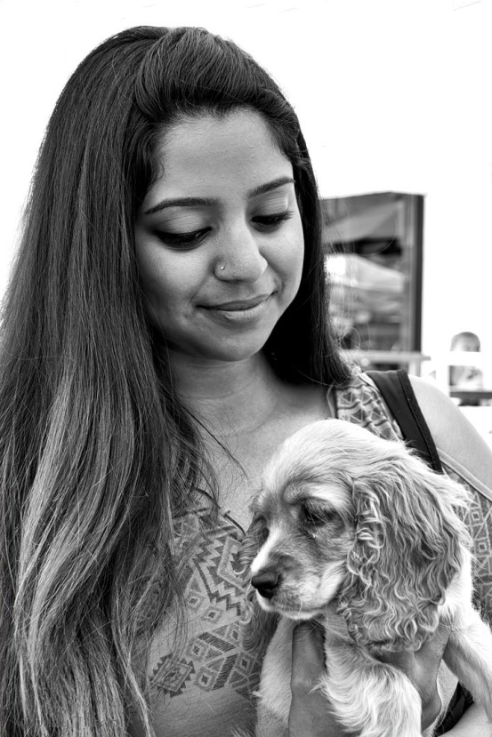 Tillson Portrait woman w dog 5141