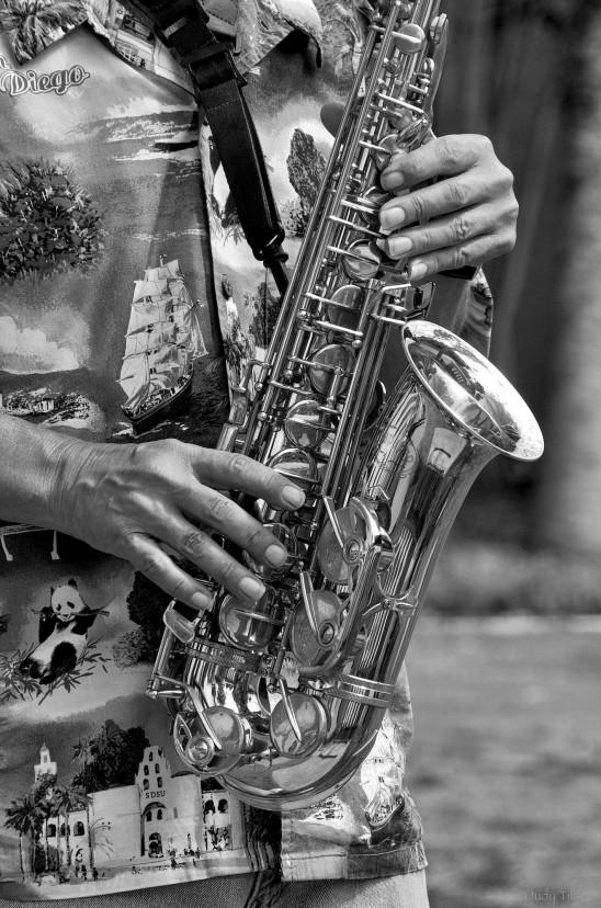 Tillson Sax man