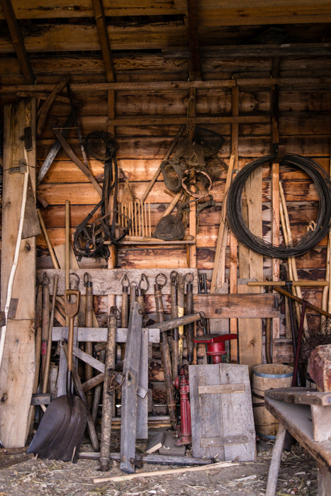 ©Valérie Jardin ~ In the tool shed