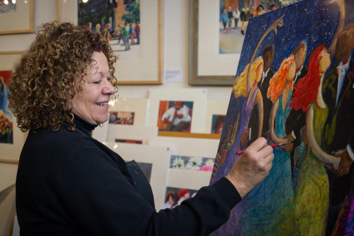 Nancy Patrick The Painter ~ ©Valérie Jardin