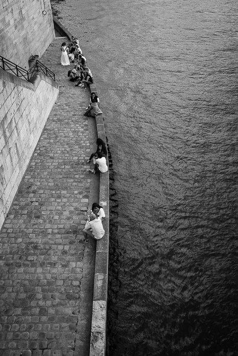 Along the Seine at Ile Saint Louis ©Valérie Jardin