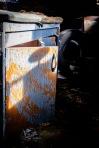 Week 15 ~ Discarded Cupboard in the sun ©Valérie Jardin