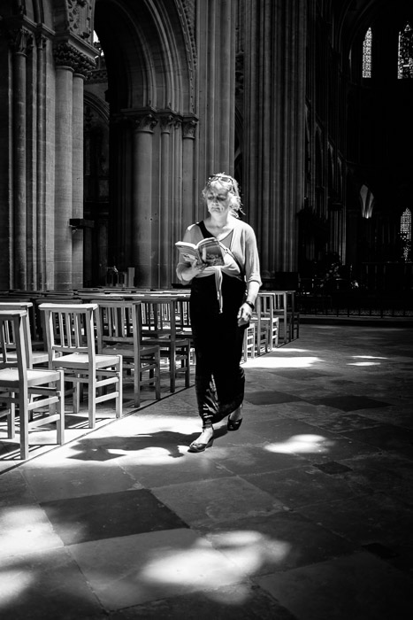 Into the light ~ Bayeux cathedral, Normandy ©Valérie Jardin