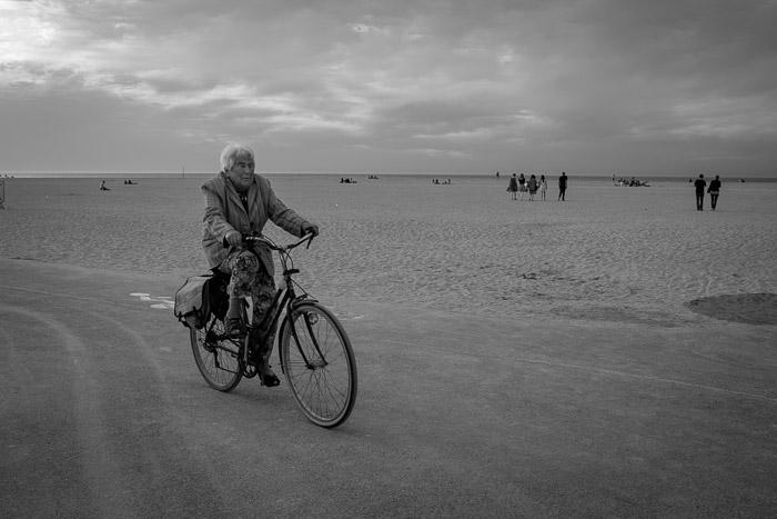 Evening bikes ride ~ Ouistreham, Normandy ©Valérie Jardin