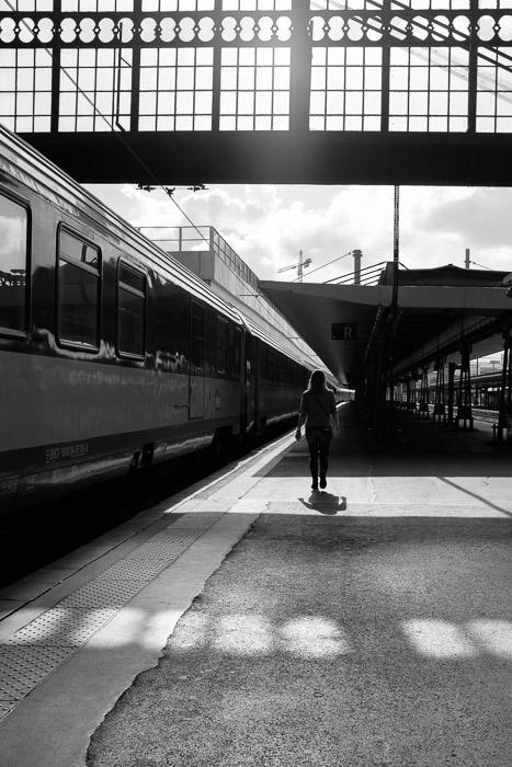 Lone passenger ©Valerie Jardin
