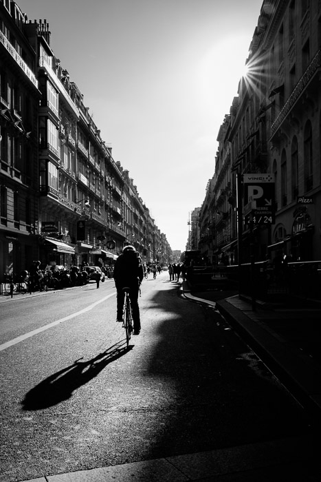 Paris without cars on Sept. 28 ©Valerie Jardin