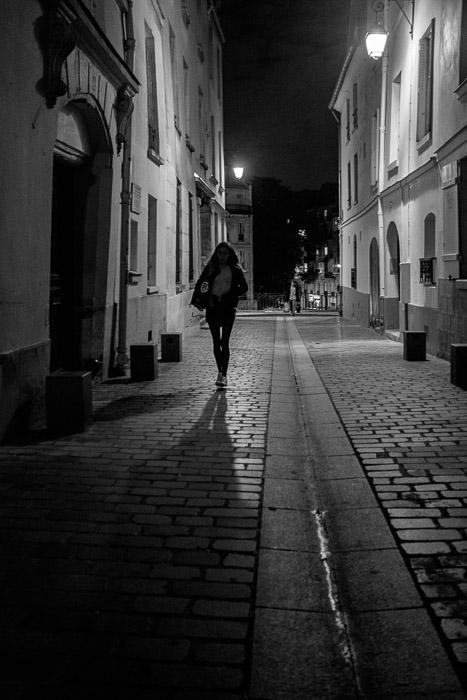 Alone at night ©Valerie Jardin