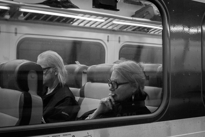 Leaving Grand Central ©Valerie Jardin