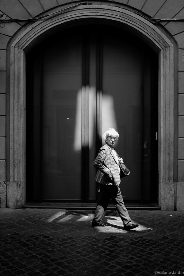 ©Valerie Jardin - Rome B&W-1